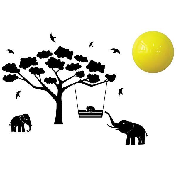 Lampa Si Decoratiune Pentru Camera Copilului Mumbo