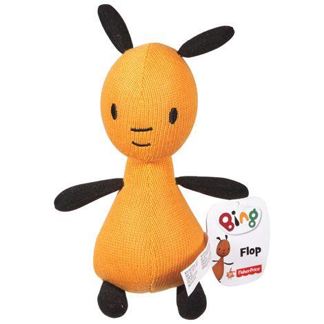 Papusa din plus Bing - Mascota Flop 16 cm