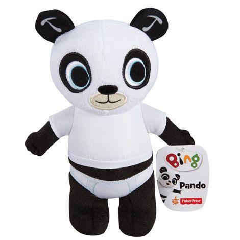 Papusa din plus Bing - Ursuletul Pando 18 cm