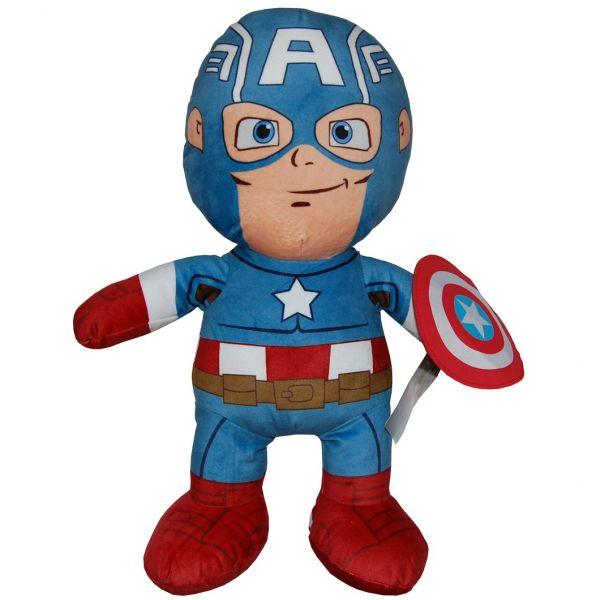 Papusa din plus Captain America; 50 cm