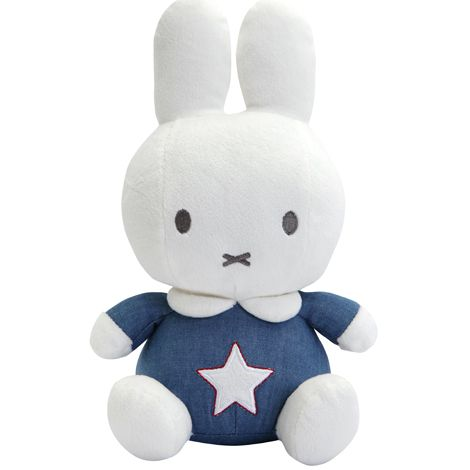 Papusa din plus Miffy Denim 25 cm