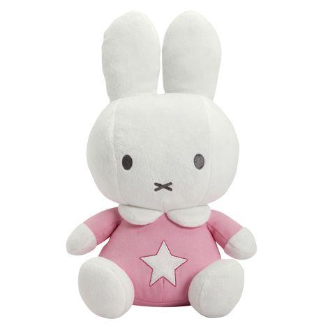 Papusa din plus Miffy Pink 25 cm