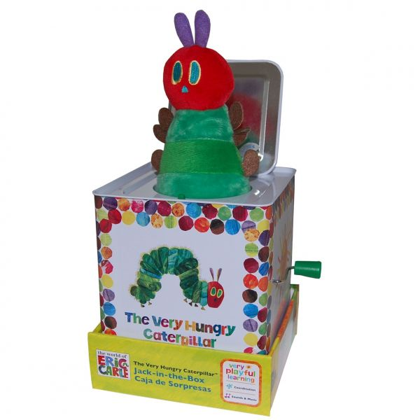 The Very Hungry Caterpillar | Cutie muzicala Jack-in-the-box