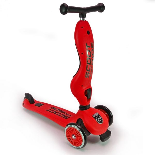 Trotineta 2-in-1 Scoot & Ride Highwaykick 1 Red; 1-5 Ani