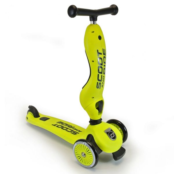 Trotineta 2-in-1 Scoot & Ride Highwaykick 1 Lime; 1-5 Ani