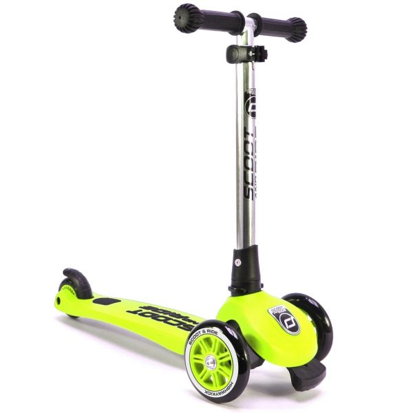 Trotineta Scoot & Ride Highwaykick 3 Lime; 3-6 Ani