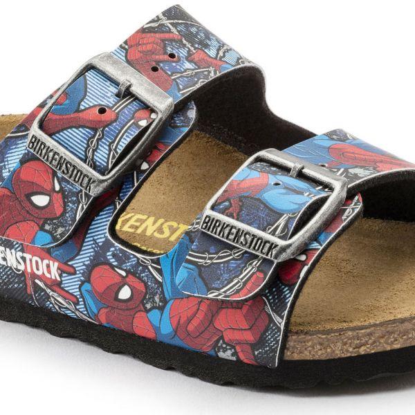 Papuci Arizona Spiderman Action Blue 095a105d03d