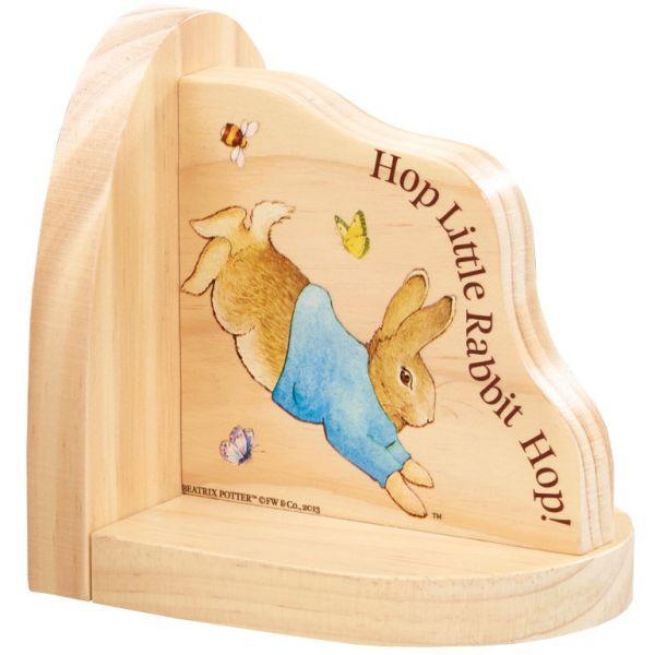 Peter Rabbit | Suport Din Lemn Pentru Carti