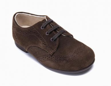 CHARLES Brown Suede
