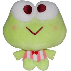 Jucarie din plus Keroppi, Hello Kitty's Friends, 22 cm