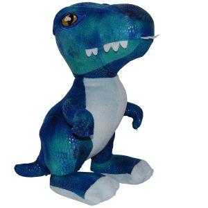 Jucarie din plus si material textil Blue Raptor, Jurassic World, 25 cm