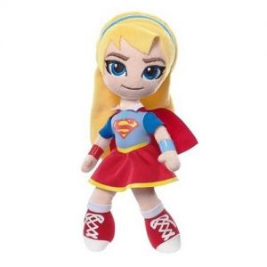Jucarie din plus si material textil Supergirl, DC Super Hero Girls, 24 cm