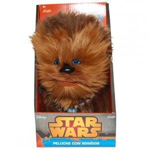 Jucarie vorbitoare din plus, Star Wars Chewbacca, 21 cm