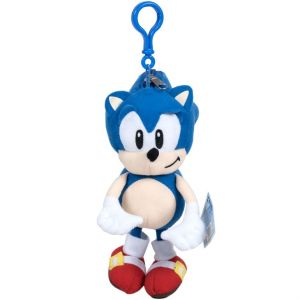 Jucarie din plus Sonic Hedgehog, breloc, 19 cm
