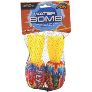 Bomba -jucarie pentru apa, set 2 bucati, 15 cm