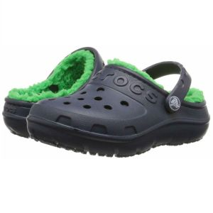 HILO Lined Navy / Grass Green