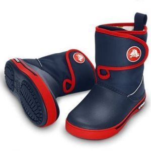 CROCBAND II.5 GUST BOOT Navy / Red
