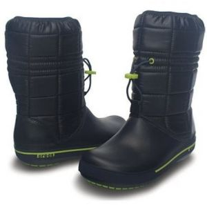 CROCBAND II.5 WINTER BOOT Navy / Green