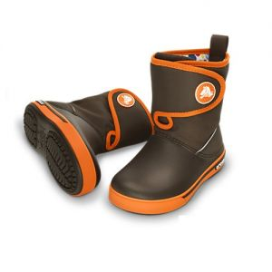 CROCBAND II.5 GUST BOOT Espresso / Orange