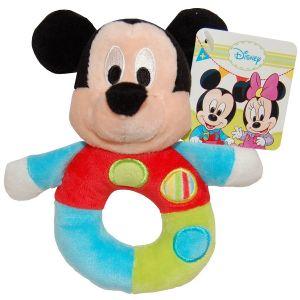 Jucarie bebe cu inel Mickey Mouse