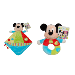 Set 2 jucarii bebe Mickey Mouse