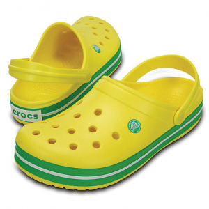 CROCBAND Lemon/Grass Green
