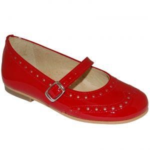 E2024 Pantofi rosii din piele lacuita