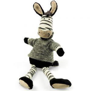 Jucarie din plus Zebra Goosey, 36 cm