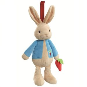 Jucarie muzicala din plus Peter Rabbit