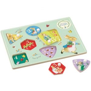 Peter Rabbit | Joc puzzle din lemn
