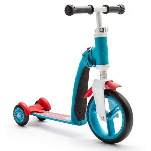 Trotineta 2-in-1 Scoot & Ride HighwayBaby+ 1-4 ani, Blue / Red