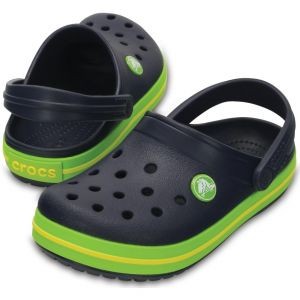 CROCBAND Navy/Volt Green