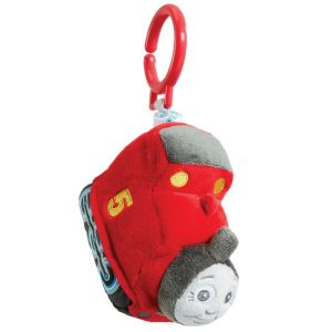 Jucarie atasabila din plus si material textil James, Thomas & Friends, 11 cm
