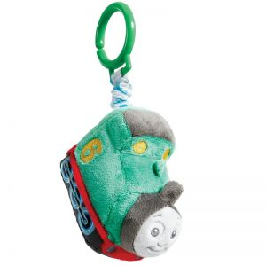 Jucarie atasabila din plus si material textil Percy, Thomas & Friends, 11 cm