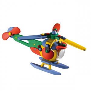 Jucarie de construit 3D Elicopter 089.006, 17.7 cm