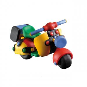 Jucarie de construit 3D Scuter 089.032, 13.7 cm