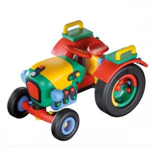 Jucarie de construit 3D Tractor 089.071, 16.5 cm