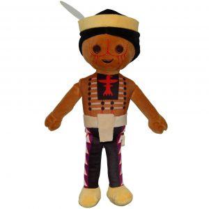 Jucarie din plus Amerindian, Playmobil, 30 cm