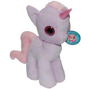 Jucarie din plus My Cute Unicorn, Lila, 28 cm