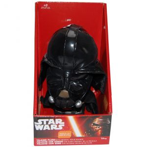 Jucarie vorbitoare din material textil, Star Wars Darth Vader, 20 cm