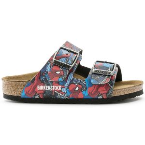 Papuci Arizona Spiderman Action Blue