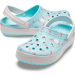 CROCBAND Graphic Ice Blue/Pink