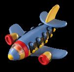 Jucarie de construit 3D Avion cu reactie 089.106, 13 cm