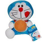 Jucarie din plus Doraemon cu buzunar frontal, 25 cm
