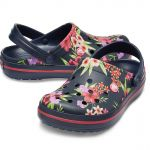 CROCBAND Tropical Floral / Navy