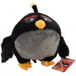 Jucarie din plus Bomb, Angry Birds, 18 cm