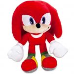 Jucarie din plus Knuckles, Sonic Hedgehog, 27 cm