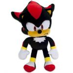 Jucarie din plus Shadow, Sonic Hedgehog, 30 cm