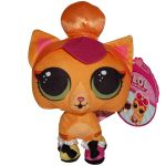 Jucarie din plus si material textil Neon Kitty, L.O.L. Surprise! Pets, 20 cm