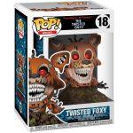 Figurina din vinil Twisted Foxy, Five Nights at Freddy's, 9 cm